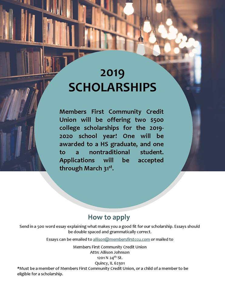 Members First Scholarships