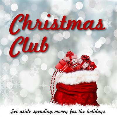 the christmas club account will have you decking the halls stress free this account allows you to set aside spending money for the holidays - Christmas Club Account